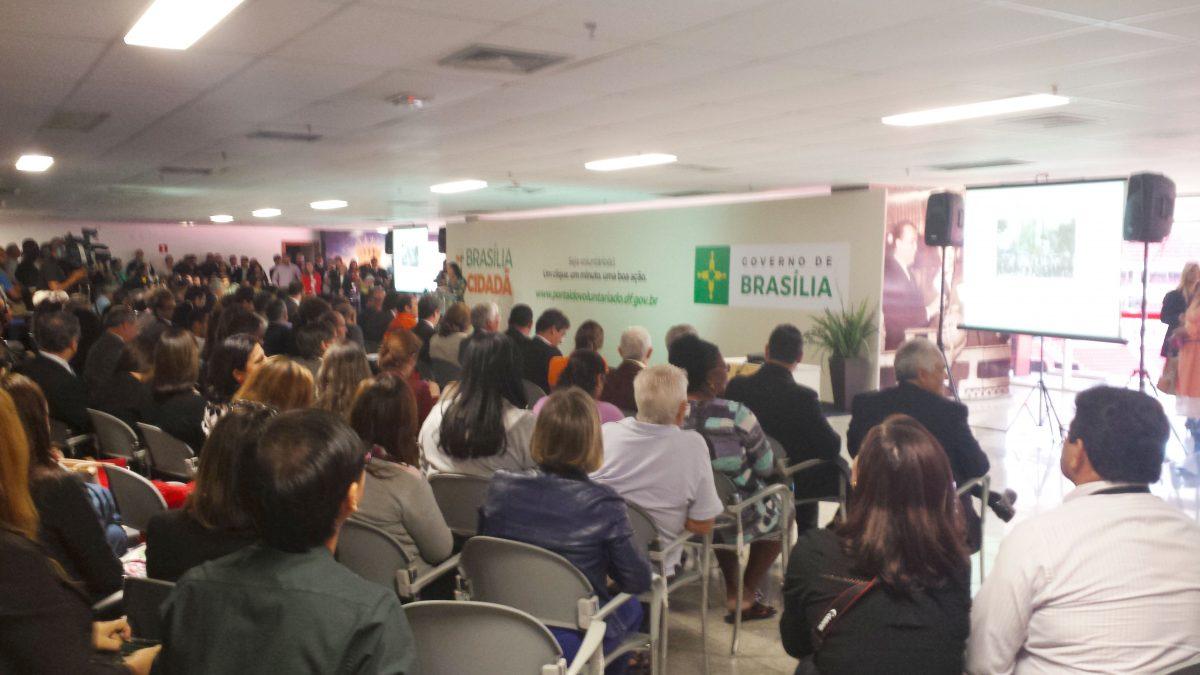 Lançamento Portal Solidário_